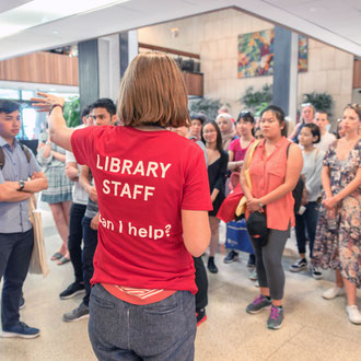 Fisher Library tours